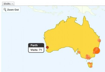 Google Analytics - map