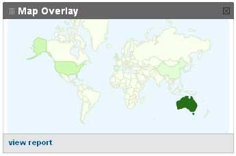 Google Analytics - map overlay